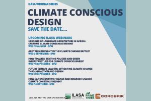 ILASA Webinar Series – Climate Conscious Design
