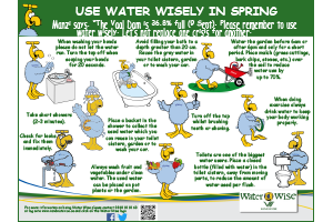 Use Water Wisely in Spring💧