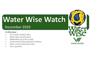 Water Wise Watch – December 2020