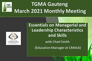 TGMA Gauteng Meeting