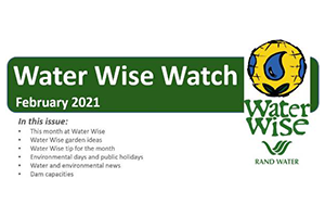 Water Wise Watch – February 2021